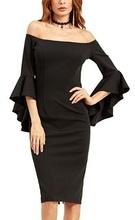 Crna haljina sa neobicnim rukavima