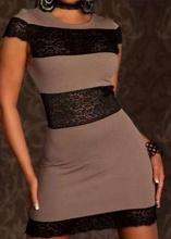 Braonkasta haljina