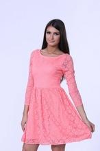 Cipkasta haljina boje kajsije