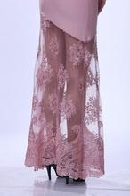 Duga puder roze haljina