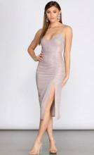 Svetlucavo roze haljina