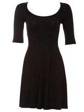 Dnevna crnka haljina