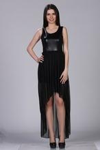 Neobicna crna haljina
