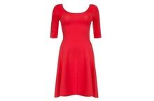Crvena dnevna haljinica