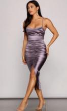 Svecana siva haljina