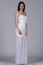 Bela haljina za venčanje sa muslinom