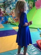 Bela haljina sa masnom i cipkom