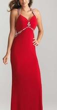 Crvena duga maturska haljina