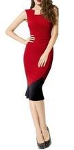 Crvena haljina sa karnerom