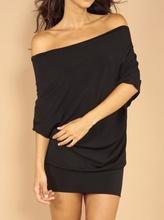 Crna haljinica bez ledja