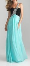 Duga savrsena plava haljina