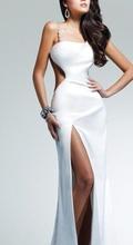 Bela dugacka haljina