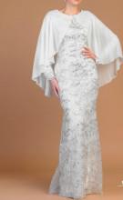 Bela duga haljina sa cipkom za vencanje