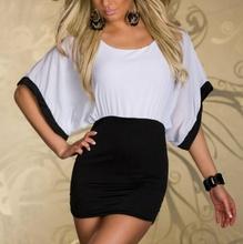 Crno bela leprsava haljina