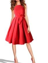 Dnevna haljina sa falticama i gloknicom
