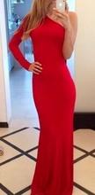 Duga crna i crvena  haljina