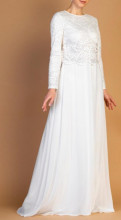 Kajsija haljina za vencanje