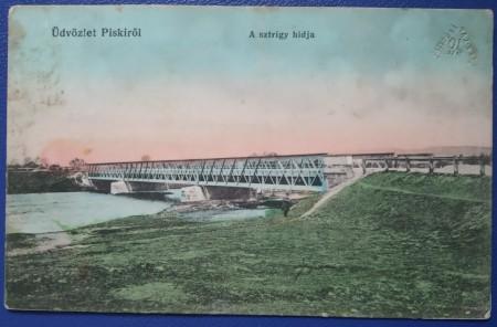 1915 - Simeria, podul sztrigy (jud. Hunedoara)