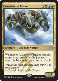 Avalanche Tusker x4