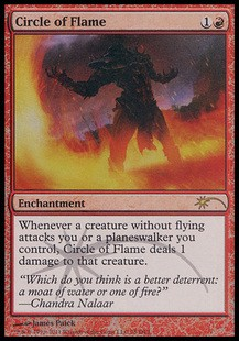 Circle of Flame - Promo FOIL