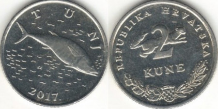 Croatia 2017 - 2 kuna, circulata