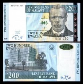 Malawi 2004 - 200 kwacha, necirculata