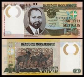 Mozambic 2011 - 50 meticais, necirculata