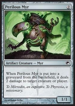 Perilous Myr  FOIL