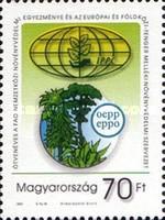 Ungaria 2001 - 50th Organizației pentru Protecția Plantelor, neuzata