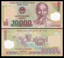 Vietnam 2014 - 10.000 dong, necirculata