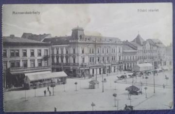 1915 - Targu Mures, centru, vedere necirculata (jud. Mures)