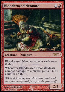 Bloodcrazed Neonate - Promo FOIL x3