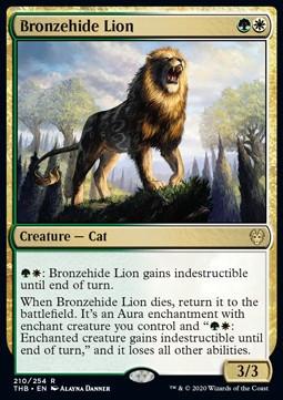 Bronzehide Lion  FOIL