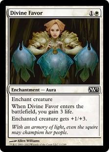 Divine Favor FOIL x4
