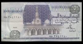Egipt 1991 -  5 pounds, circulata