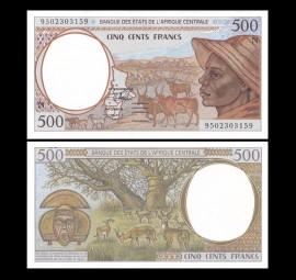 Guineea Ecuatoriala 2000 -  500 francs, necirculata