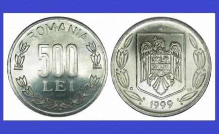Romania 1999 - 500 lei UNC -