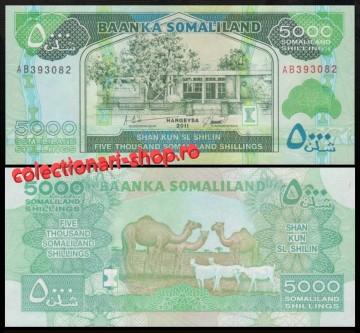 Somaliland 2011 - 5000 shillings, necirculata