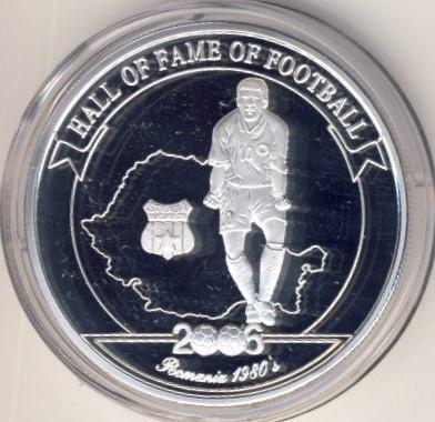 Uganda 2006 - 2000 shillings, proof-argintat