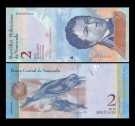 Venezuela -   2 bolivares 2013, necirculata