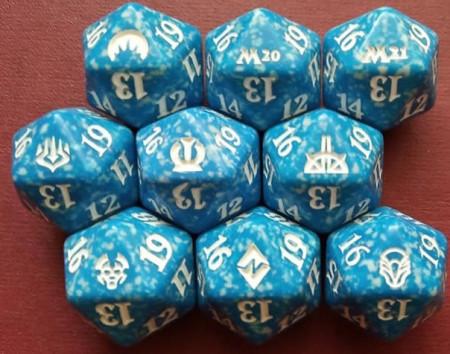 Zar albastru cu 20 de fete