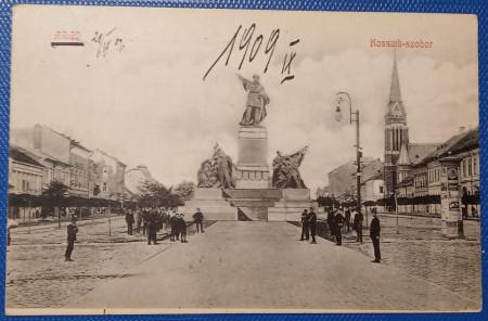 1909 - Arad, statuia Kossuth (jud.Arad)