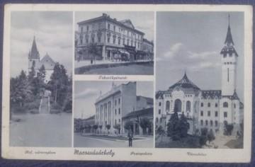 1942 - Targu Mures, mozaic, vedere circulata (jud. Mures)