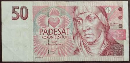 Cehia 1997 - 50 korun, circulata