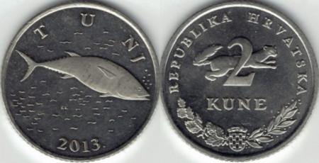 Croatia 2013 - 2 kuna, circulata