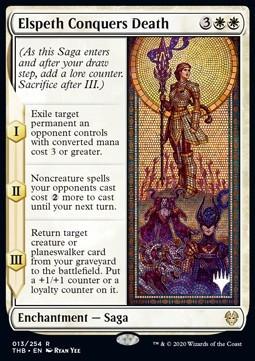 Elspeth Conquers Death (V.1) FOIL