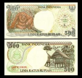 Indonezia 1992 - 500 rupiah XF