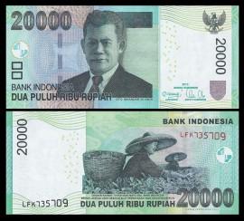 Indonezia 2013 - 20.000 rupiah, necirculata