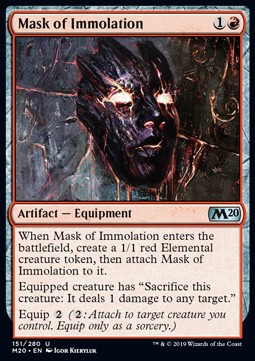 Mask of Immolation x4
