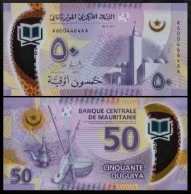 Mauritania 2017 -  50 ouguiya, necirculata